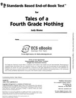 Standards Based End-of-Book Test for Tales of a Fourth-Gra