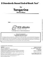 Standards Based End-of-Book Test for Tangerine