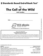 Standards Based End-of-Book Test for The Call of the Wild