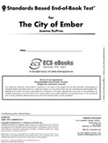 Standards Based End-of-Book Test for The City of Ember