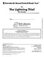 Standards Based End-of-Book Test for The Lightning Thief