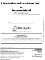 Standards Based End-of-Book Test for Treasure Island