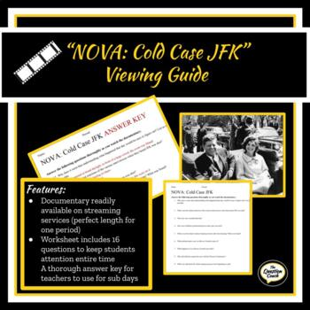 NOVA: Cold Case JFK Documentary Viewing Guide