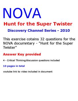NOVA  Hunt for the Super Twister - video activity