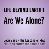 NOVA - Life Beyond Earth Part 1: Are We Alone?