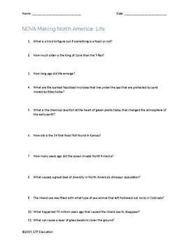 NOVA Making North America Complete Series Video Questions