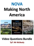 NOVA: Making North America: Origins, Life, Human Video Questions