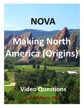 NOVA: Making North America: Origins Video Questions