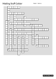 NOVA/PBS Making Stuff Colder Crossword