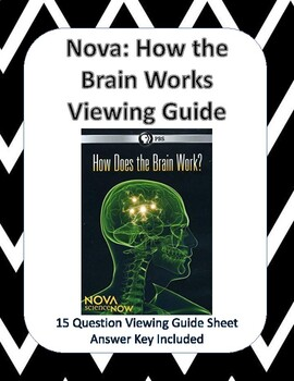 NOVA Science Now: How the Brain Works Movie Viewing Guide