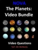 NOVA: The Planets Video Questions Bundle
