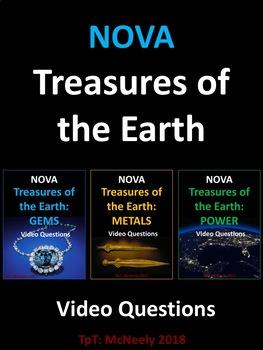 NOVA: Treasures of the Earth: Complete Series Video Questions