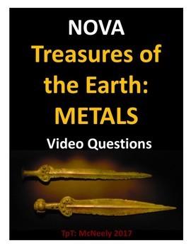 NOVA: Treasures of the Earth: Metals Video Questions