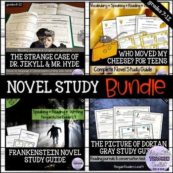 BUNDLE: Who Moved My Cheese, Frankenstein, Dorian Gray, Dr. Jekyll & Mr. Hyde