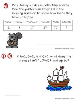NOVEMBER Brain Teasers & Logic Puzzles