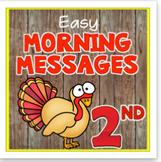 November 2nd Morning Messages