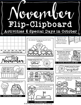 NOVEMBER FLIP-BOARD Hands-On Interactive Fun