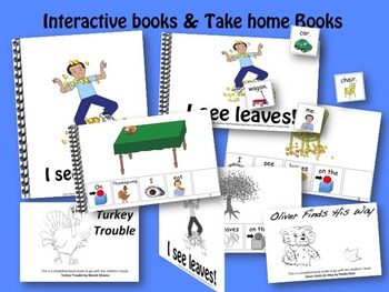 NOVEMBER Interactive Language Activities Bundle