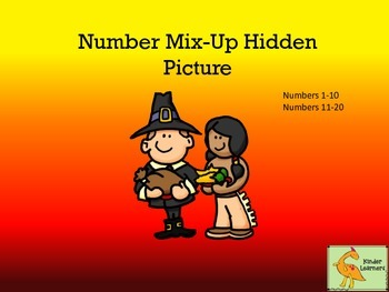NOVEMBER NUMBER MIX-UP PUZZLE
