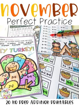 NOVEMBER Perfect Practice for Addition