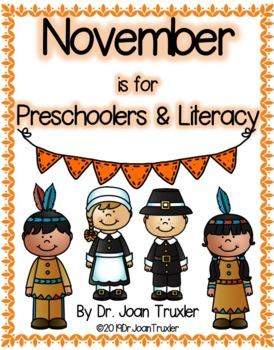 NOVEMBER is for Preschoolers