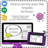 NOW FREE! Google Slide Template Distance/Digital Learning