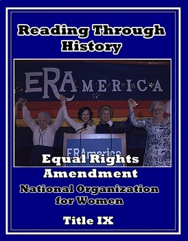 NOW, the Equal Rights Amendment, and Title IX