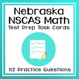 4th Grade Math Test Prep Task Cards for NSCAS