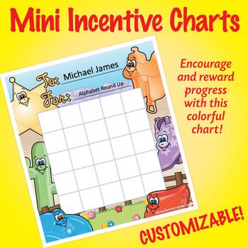 NSD2211 Corral Editable Mini Incentive Charts