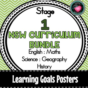 NSW CURRICULUM STAGE 1 LEARNING GOALS ENGLISH MATHS SCIENCE GEOGRAPHY HISTORY