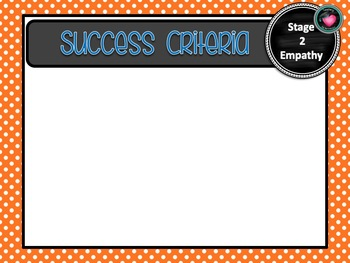 NSW CURRICULUM STAGE 2 HISTORY Learning Goals & Editable Success Criteria