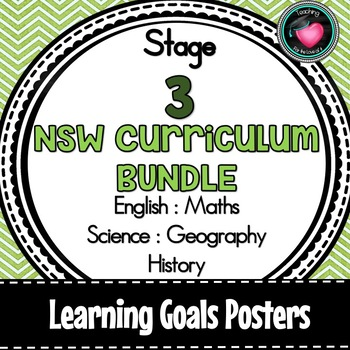 NSW CURRICULUM STAGE 3 LEARNING GOALS ENGLISH MATHS SCIENCE GEOGRAPHY HISTORY