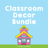 NSW Classroom Set Up Kit - Printable Classroom Decor