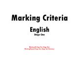NSW English Marking Rubric