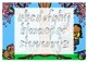 NSW FOUNDATION colour ALPHABET tracing templates  5 designs
