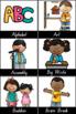 NSW Foundation Font Classroom Decor Bundle