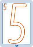 NSW Foundation Font Numbers - Play Dough Pack
