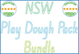 NSW Foundation Font Play Dough Pack Bundle
