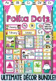 NSW Foundation Font Polka Dot Decor Bundle