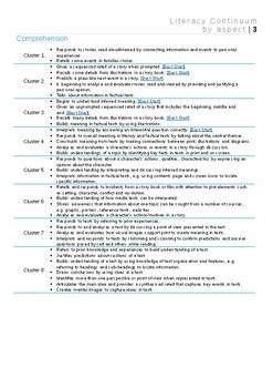 NSW Literacy Continuum FULLY EDITABLE