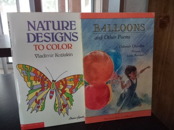 NATURE DESIGNS   BALLOONS    SET OF 2