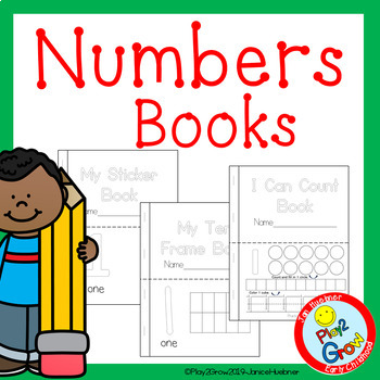NUMBER BINDER BOOK (with 4 cover choices) or use as Practi