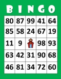 NUMBER BINGO! (1-100) - Number Recognition