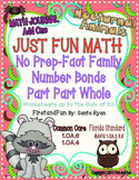 NUMBER BOND FUN WORKSHEETS & ASSESSMENT PACK COMMON CORE MAFS