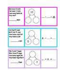 NUMBER BONDS 10 Word Problem Math Station