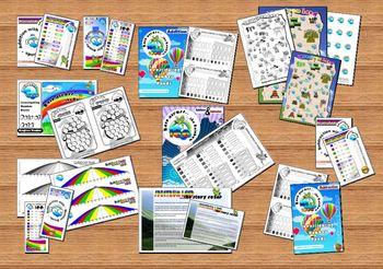 NUMBER BONDS: Race Across the Rainbow Ultimate Adventure Pack