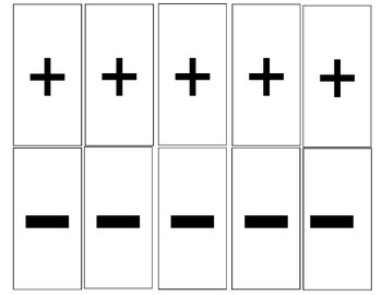 NUMBER CARDS 0-10; 10 FRAME; Eng/SPAN; words, tally