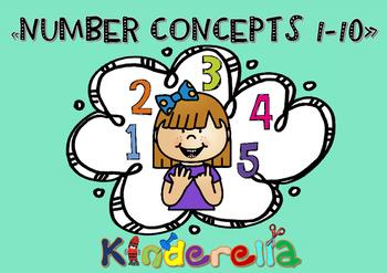 NUMBER CONCEPTS 1-10 WORKSHEETS