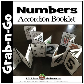 NUMBER COUNT ACCORDION BOOKLET