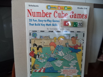NUMBER CUBE GAMES   ISBN 0-590-18736-8